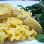 Chicken with Hollandaise Sauce